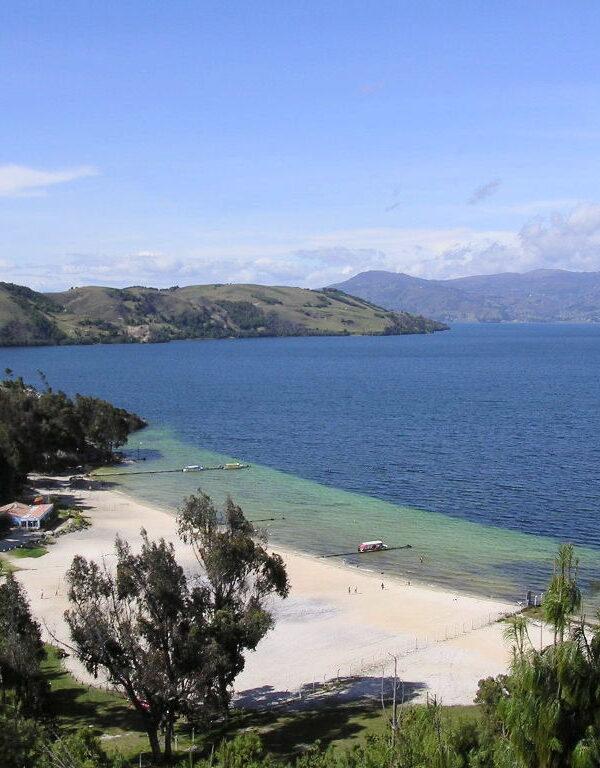 Laguna de tota Boyacá