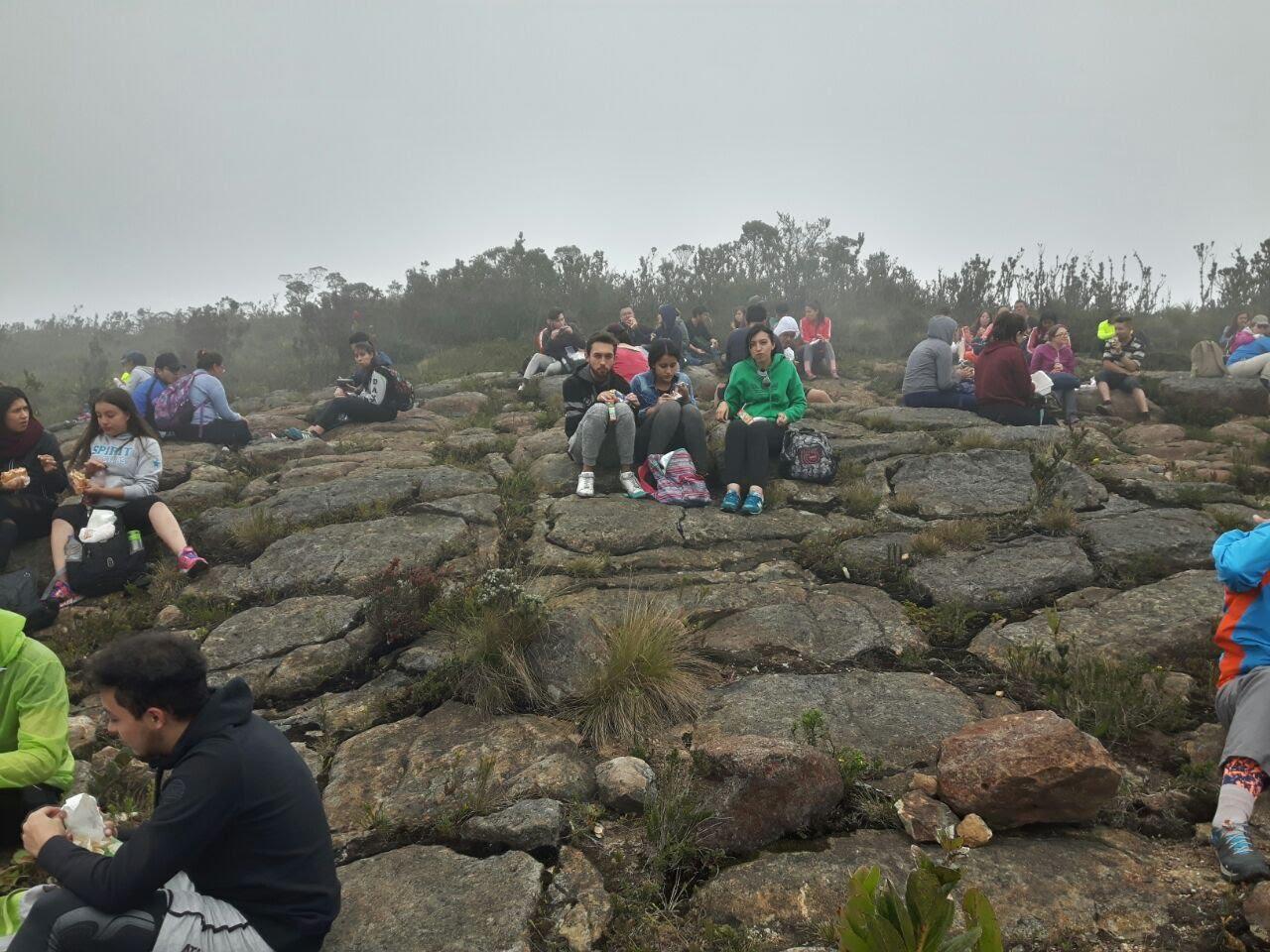 Caminata Cundinamarca Cerro el tablazo