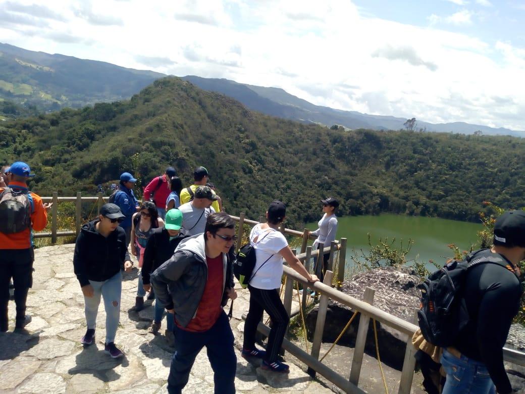 Senderismo Laguna de Guatavita