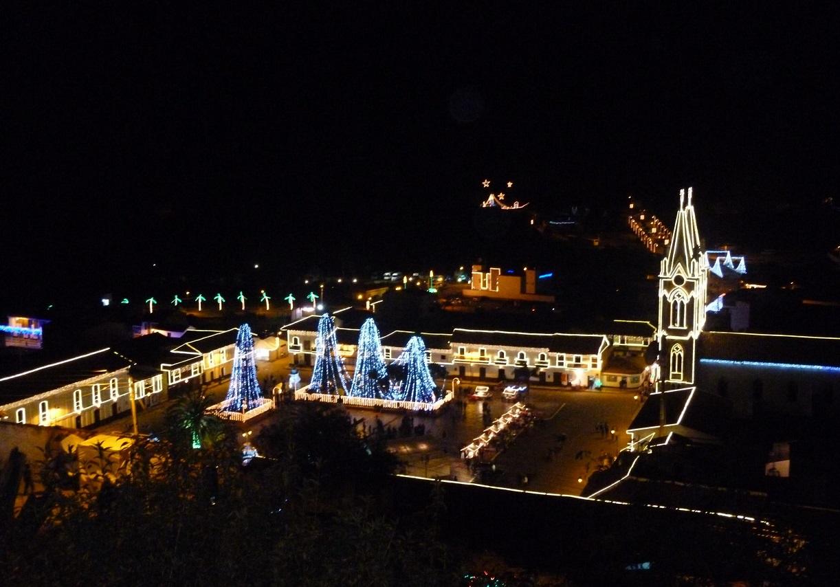 Tour de luces por Boyacá