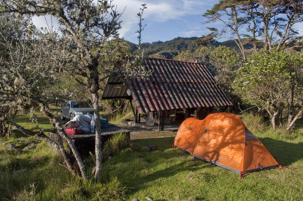 Donde acampar en Cundinarmaca