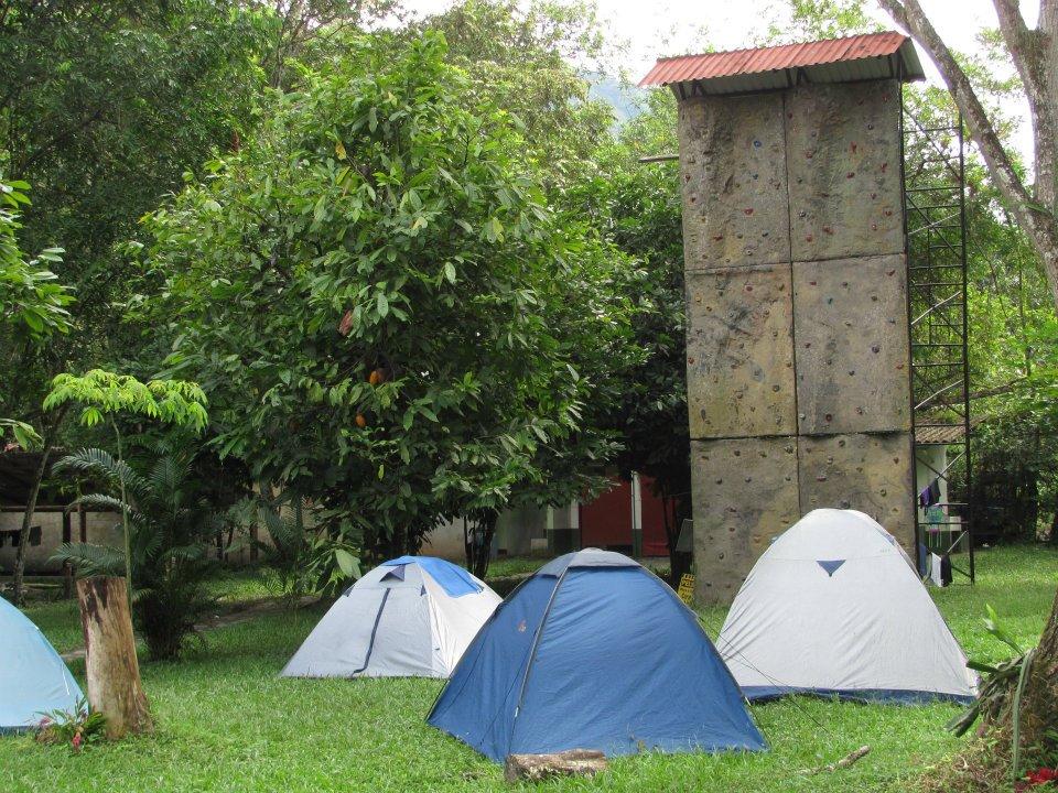 Donde acampar en Tobia