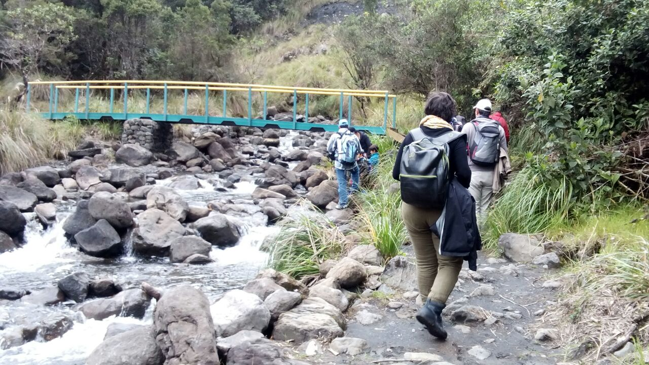 Caminata ambiental Chingaza