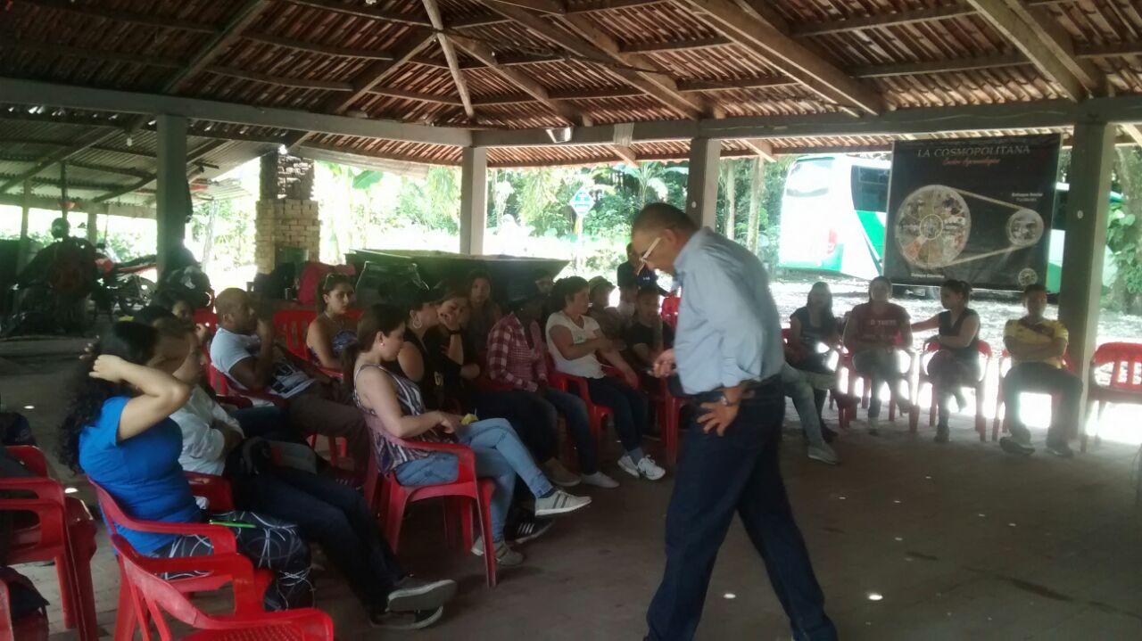 Outdoor training Restrepo