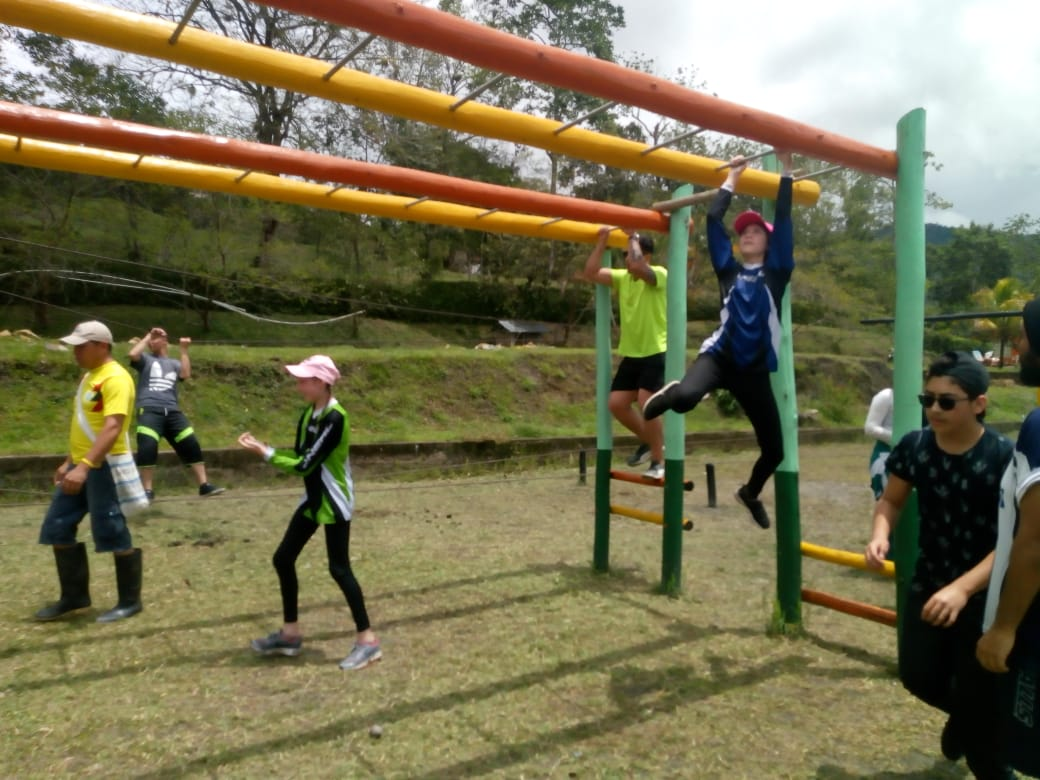 Outdoor training Nimaima