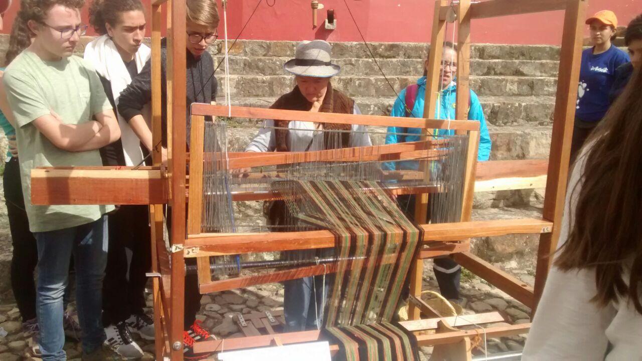 Taller experiencial de lana