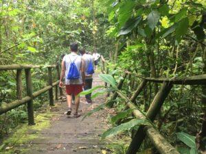 Cascada el tambo Tena Cundinamarca