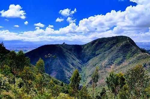 Cerro del Majuy en Cota