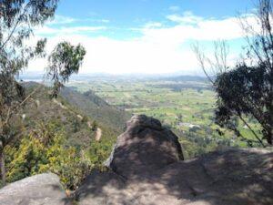 Vista en el cerro del Majuy