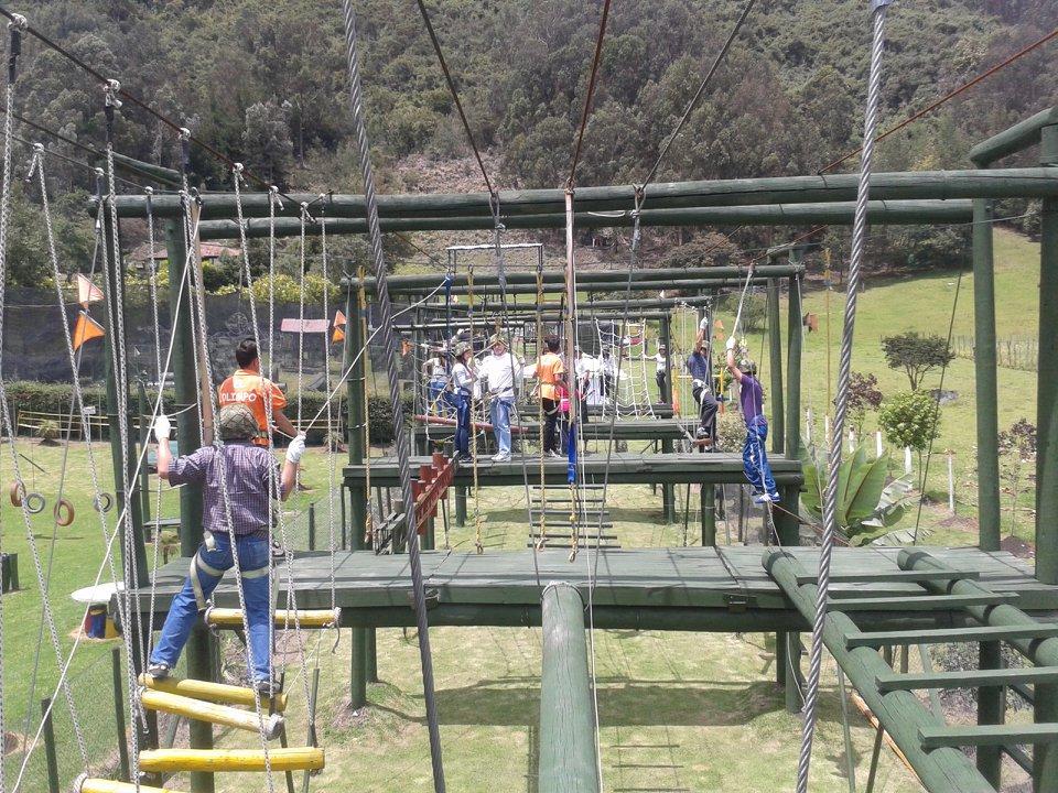 Outdoor training Subachoque